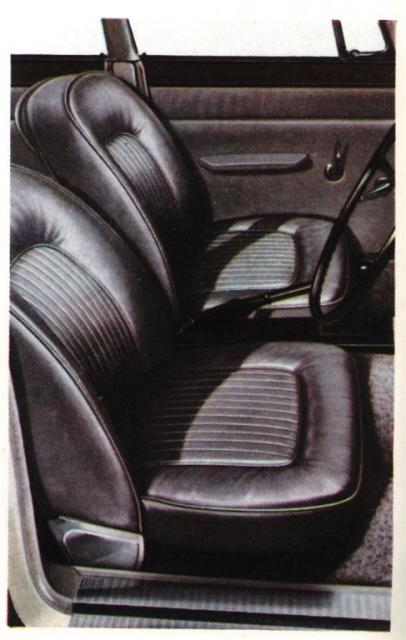 Rover 2000 front seats